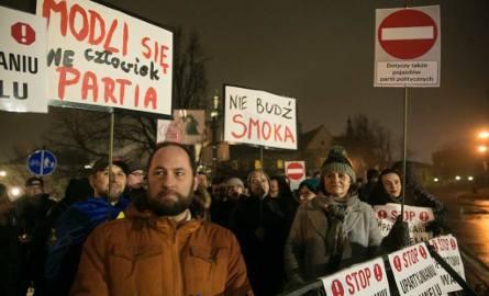 Sobotni protest pod Wawelem