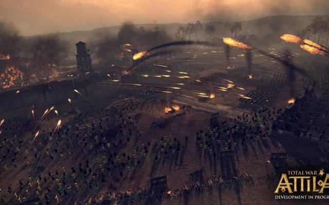 Total War: Attila. Barbarzyńcy stoją u bram (wideo)