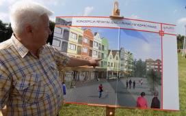 Tak ma wyglądać zrewitalizowane centrum miasta. Domy zyskają nowe elewacje.
