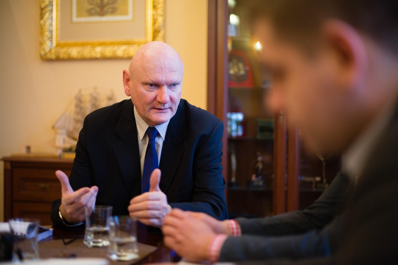 11.01.2016 torun michal zaleski prezydent miasta torunia samorzad fot. jacek smarz / polska press