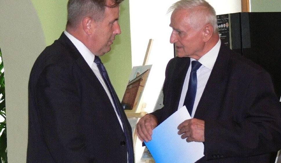 Film do artykułu: Przedstawiciele Banku wizytowali tarnobrzeski odcinek wałów wiślanych
