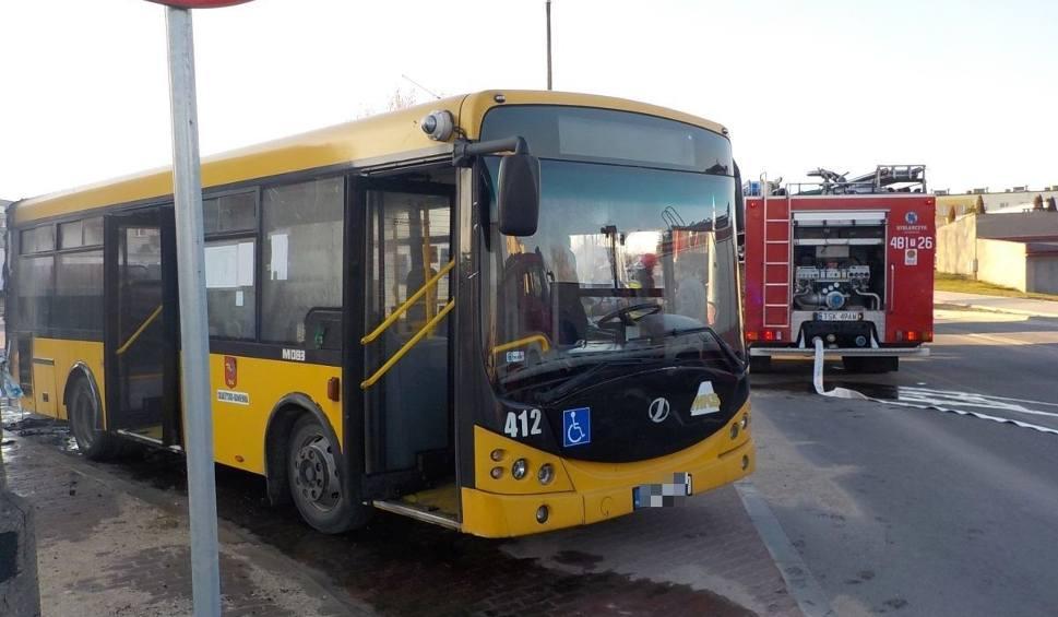Film do artykułu: Pożar miejskiego autobusu w Skarżysku