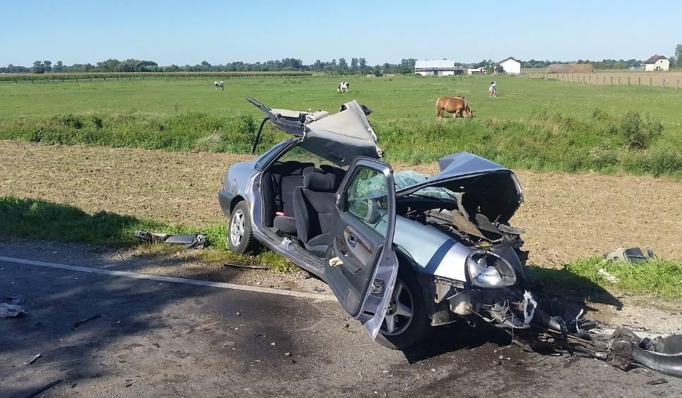 Film do artykułu: Gmina Sieciechów. Śmiertelne zderzenie z ciężarówką. Nie żyje młody radomianin
