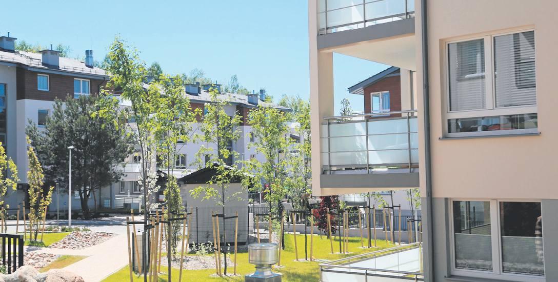 W Trójmieście jest coraz więcej inwestycji z wyższej półki. Na zdjęciu - Bernadowo Park w Gdyni: rozpoczyna się budowa II etapu osiedla