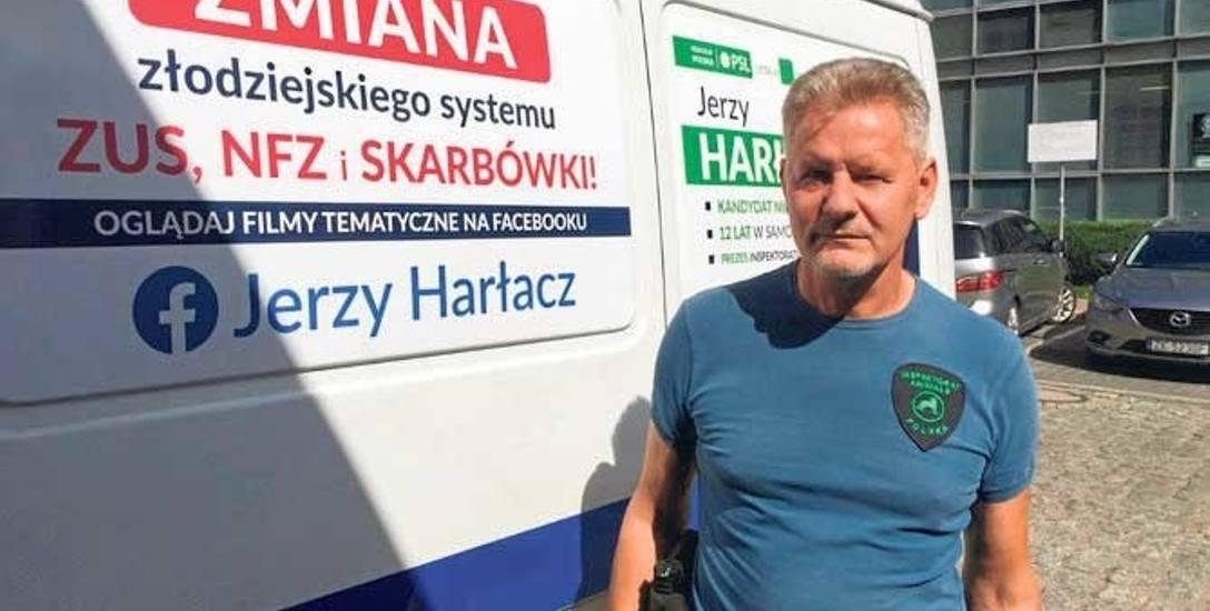 Jerzy Harłacz jest szefem Stowarzyszenia Animals, prowadzącego schronisko dla psów w Białogardzie