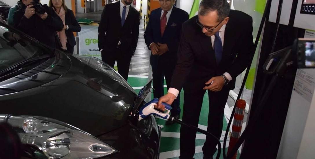 W Bielsku-Białej naładujesz już auto prądem za darmo