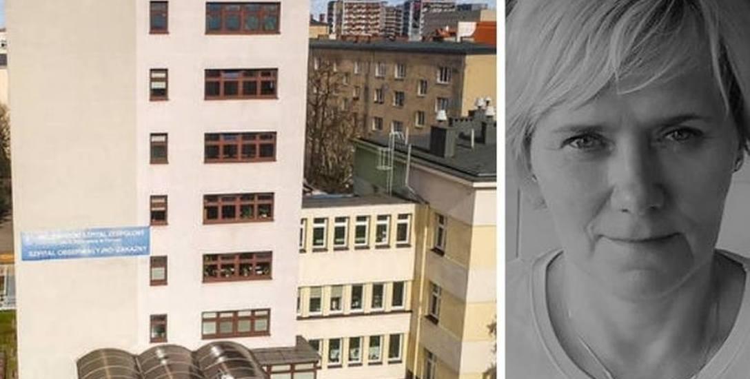 Po śmierci pielęgniarki w Toruniu. Nowe fakty. W szpitalu zakaźnym codziennie ryzykują życiem
