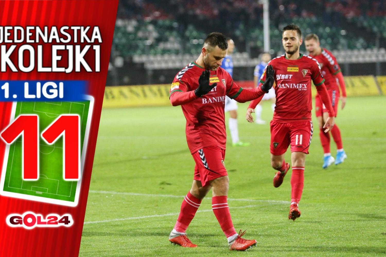 Jedenastka 17. kolejki Fortuna 1 Ligi według GOL24.pl!