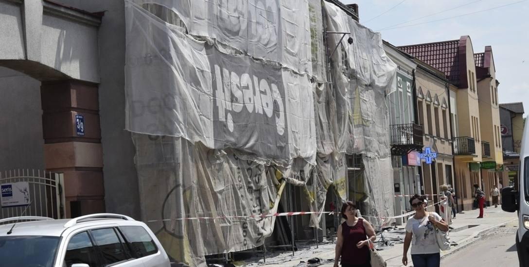 Rozpoczął się już remont kamienic przy ul. Rawskiej 11 i 13