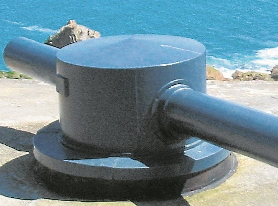 Jedyny zachowany w Europie dalmierz artyleryjski na Wyspach Normandzkich, Jersey. Pierwszy egzemplarz był testowany w Świnoujściu. Ford Gerharda zdobył