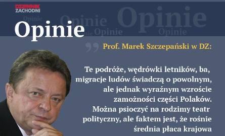 Profesor Marek S. Szczepański
