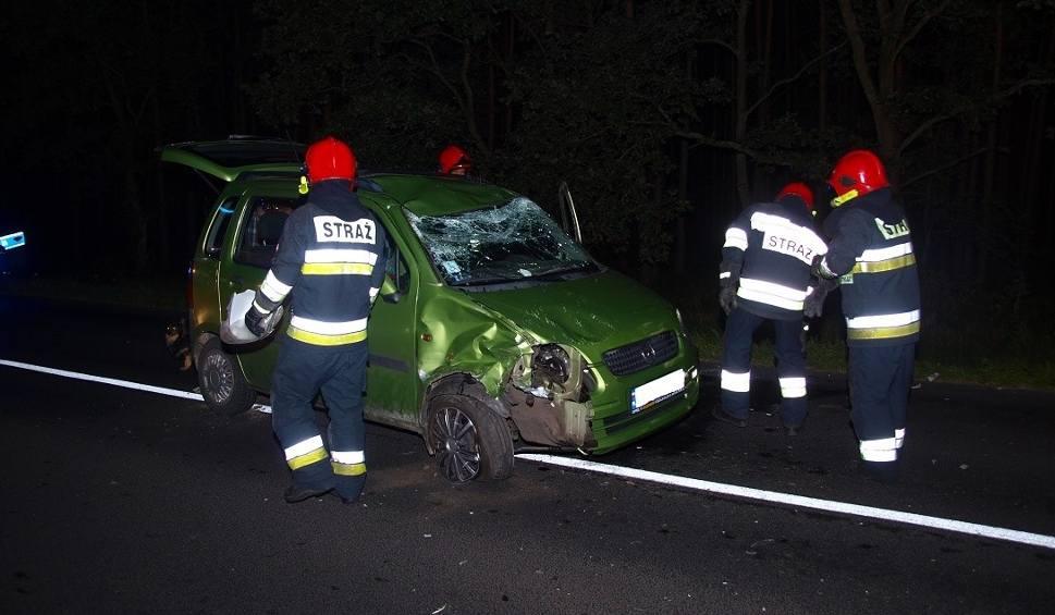 Film do artykułu: Wypadek w pow. białogardzkim. Zderzyły się dwa auta [zdjęcia]