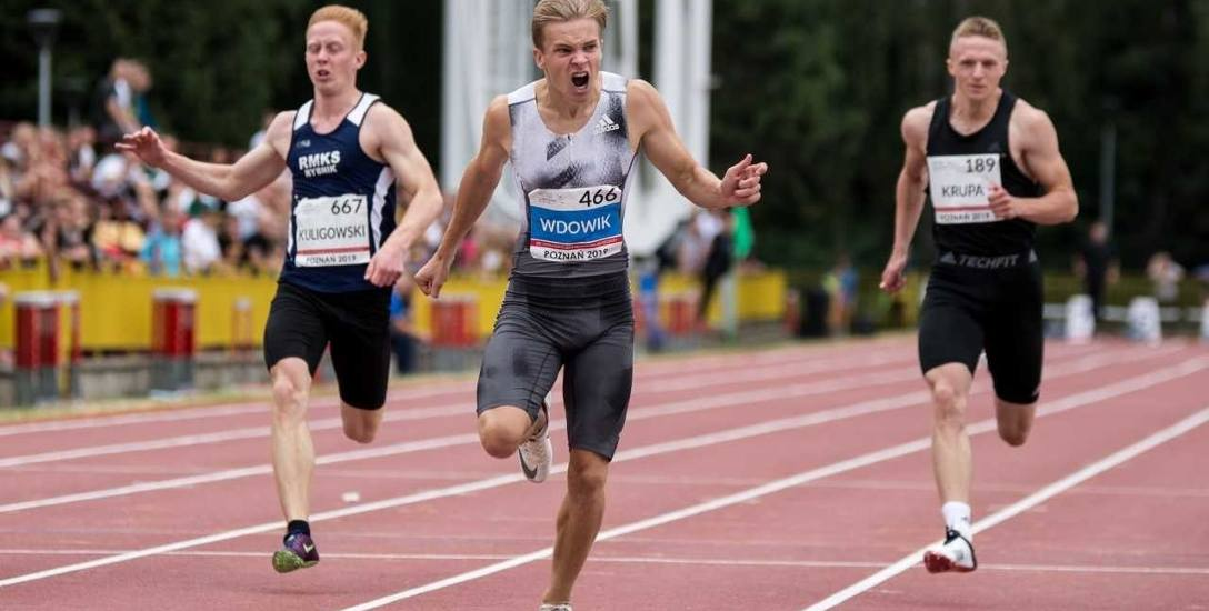 Oliwer Wdowik, sprinter Resovii, mistrz kraju w biegu na 100 i 200 metrów: Chcę zdobyć medal w Azerbejdżanie