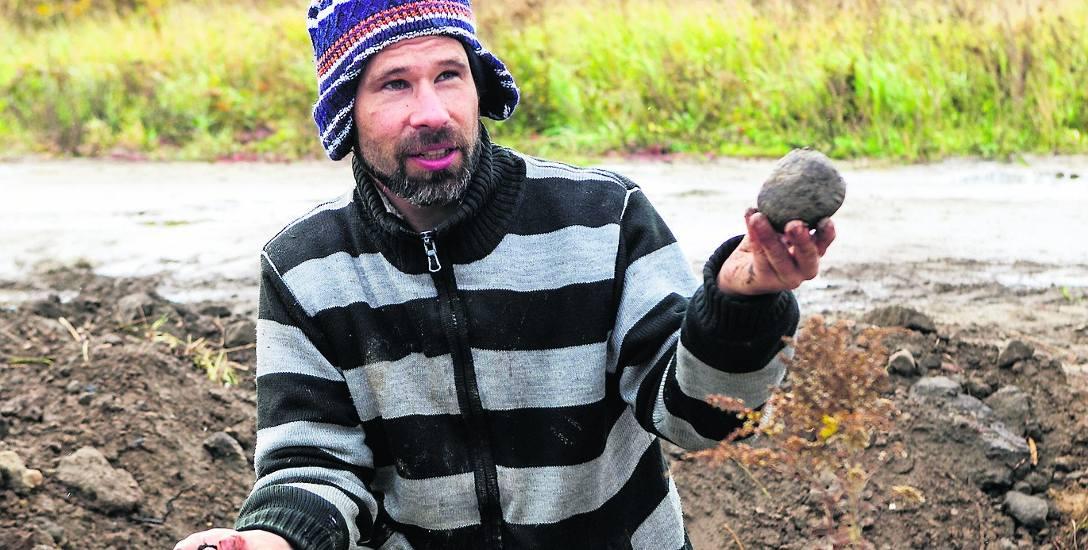 Marcin Dziewanowski od kilkunastu lat samotnie prowadzi ważne badania archeologiczne na terenach wokół Szczecina