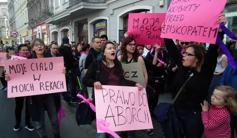 W Poznaniu w poprzedni weekend protestowano przeciwko zaostrzeniu przepisów aborcyjnych