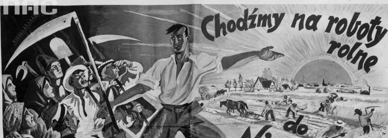 Uliczne plakaty były narzędziem propagandy w przed- i powojennej historii Polski