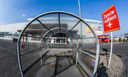 Hipermarket Tesco przy ul. Toruńskiej w Bydgoszczy