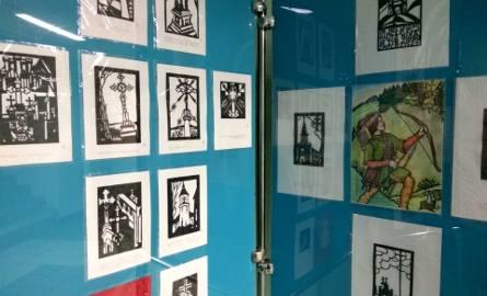 Wystawa wycinanek Marka Judyckiego w Urzędzie Miasta w Rudzie Śląskiej