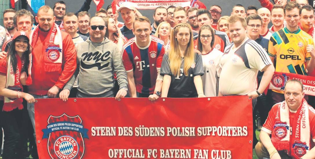 Bayern MÜnchen fanklub. Zaczynali   w Koszalinie, działają już w całym kraju