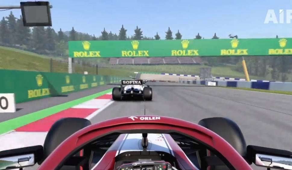 Film do artykułu: Przejedź Red Bull Ring bolidem Alfa Romeo Racing Orlen z Kimim Raikkonenem. W grze F1 2020 to możliwe! [WIDEO]