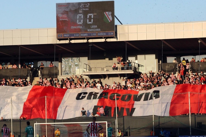 Fotorelacja z meczu Cracovia - Legia Warszawa  1:2 [ZDJĘCIA]