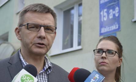 Robert Surowiec i Izabela Piotrowicz.