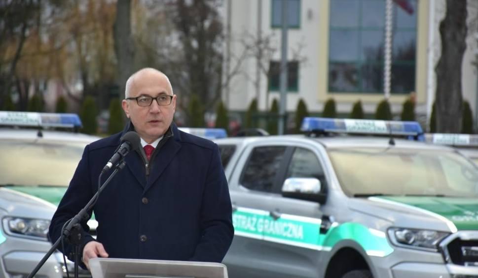Film do artykułu: Minister Brudziński w Nadbużańskim Oddziale Straży Granicznej w Chełmie (ZDJĘCIA)
