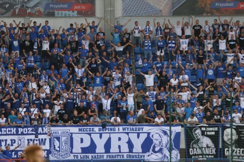 Kibice na meczu Piast Gliwice - Lech Poznań [ZDJĘCIA]