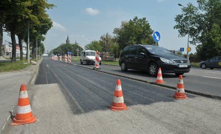 26.07.2016. rzeszow . remont ul lubelskiej lubelska asfalt remont drogi drogafot bartosz frydrych