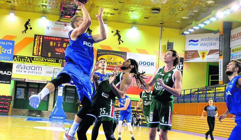 Film do artykułu: Rusza koszykarski sezon. Rosa gra na wyjeździe z wicemistrzem Polski