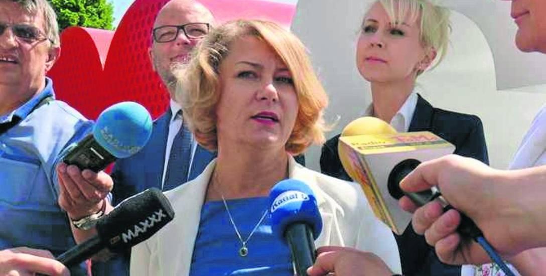 Violetta Karwalska podkreśla, że jej zadanie jest pierwszym tego typu w kraju.