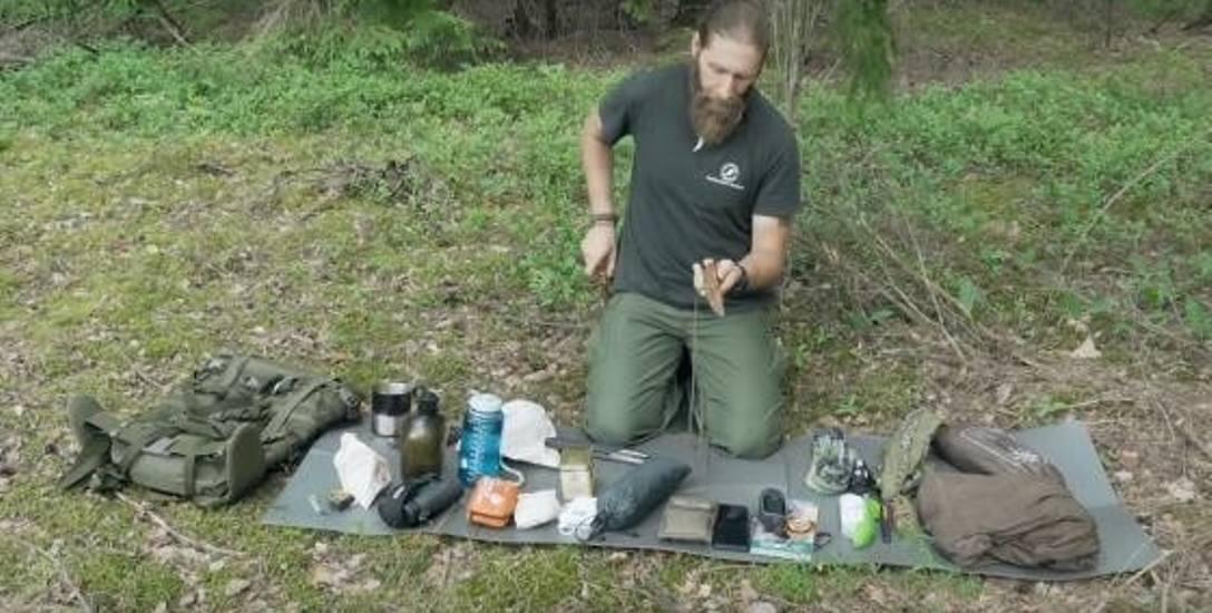 Do bushcraftu trzeba się dobrze przygotować, ale najważniejsza jest poczucie jedności z duchem lasu