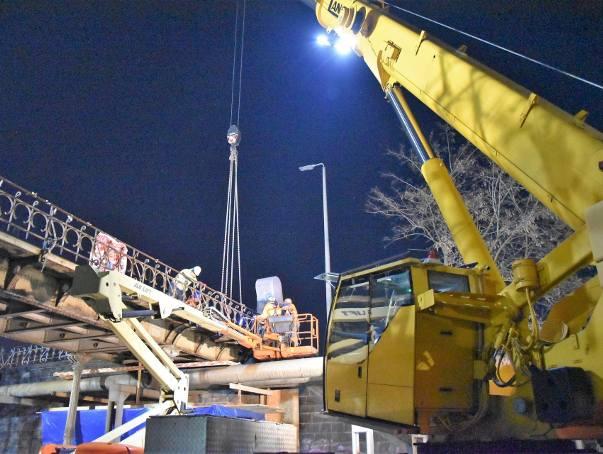 Nocne prace przy Opolu Wschodnim. Zobacz zdjęcia!