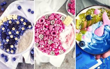 Smoothie-bowl to posiłek, który po obejrzeniu tej galerii na pewno znajdzie się w twoim menu. To nie tylko pomysł na zdrowe śniadanie czy przekąskę,