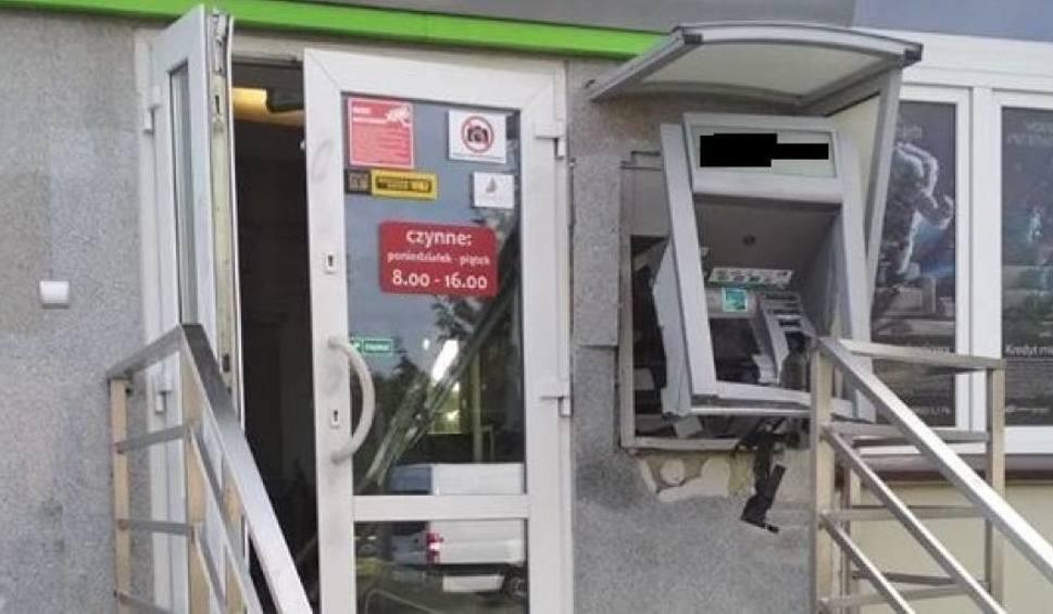 Film do artykułu: Wijewo: W nocy ktoś wysadził bankomat i ukradł pieniądze