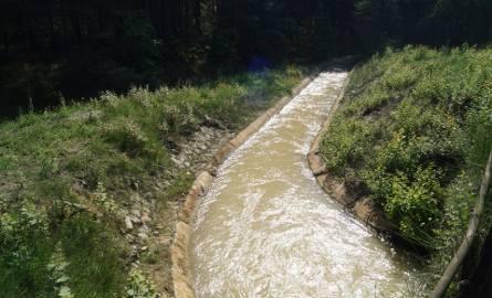 Kanał kopalniany w Olkuszu