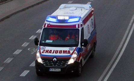 Nowy Sącz: Zderzenie aut na ul. Bulwar Narwiku, ranne dziecko