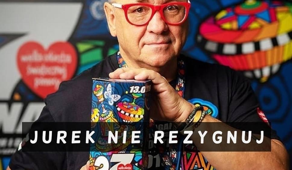 Film do artykułu: Jurek, zostań! Internauci stanęli #muremzaOwsiakiem