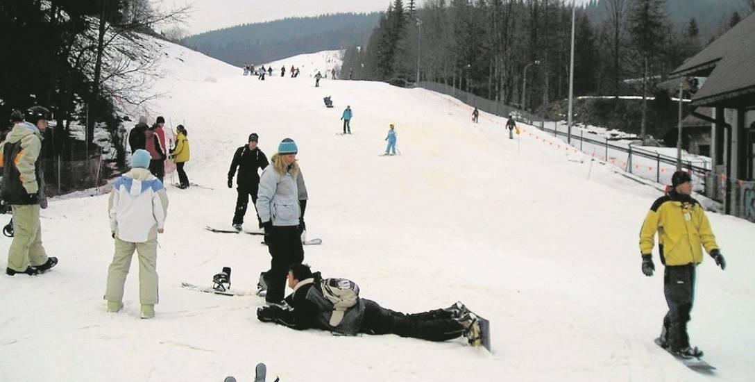 Przed 2005 r.z Gubałówki narciarze mogli zjeżdżać na nartach do samego Zakopanego
