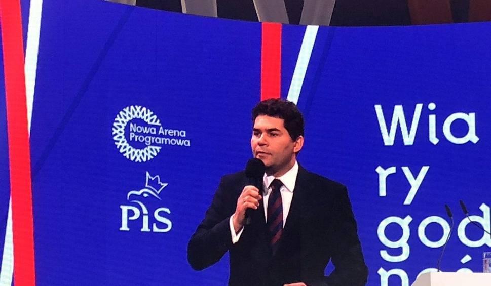 Film do artykułu: Prezydent Stalowej Woli Lucjusz Nadbereżny chwali rządy PiS na konwencji partii