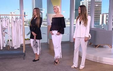 Białe spodnie to letni hit. Do czego je nosić? Porady stylistki