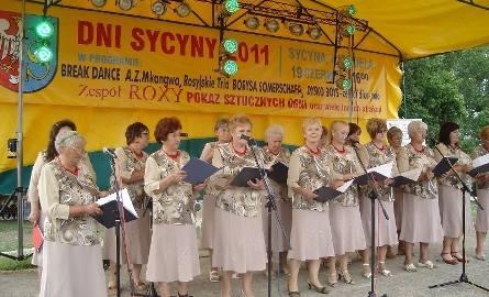"""Na scenie wystąpił """"eksportowy produkt"""" Sycyny – Chór """"Sycyna"""""""