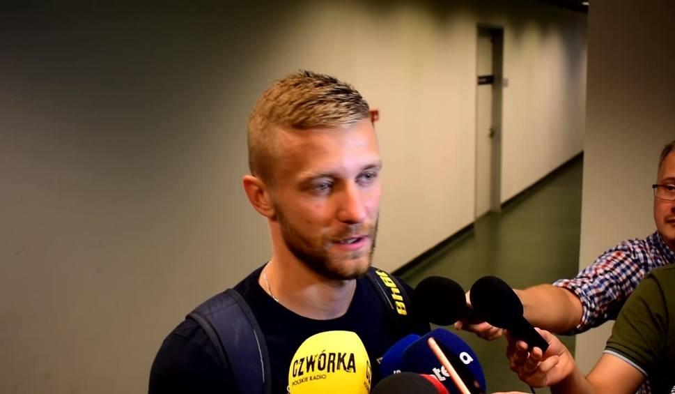 Film do artykułu: Kamil Drygas po meczu Legia - Pogoń: Chcemy powalczyć o coś więcej