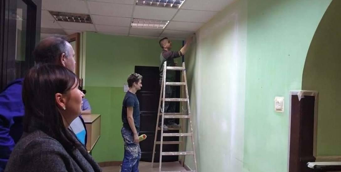 """W ramach praktyk wyremontowali ośrodek preadopcyjny """"Tuli Luli"""""""