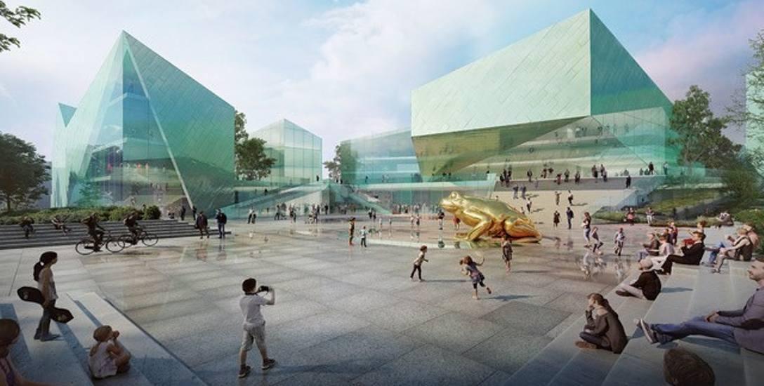 Zwycięski projekt ECF Cameriamge w Toruniu autorstwa biura architektonicznego Baumschlager Eberle Lustenau z Austrii