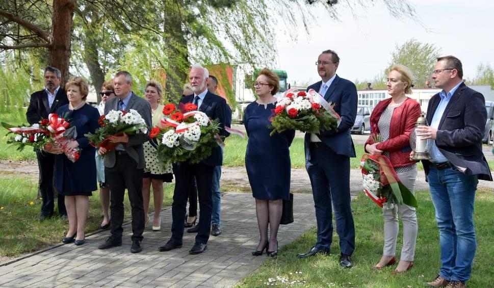 Film do artykułu: Machów, Tarnobrzeg. Minutą ciszy uczcili pamięć ofiar wypadków przy pracy
