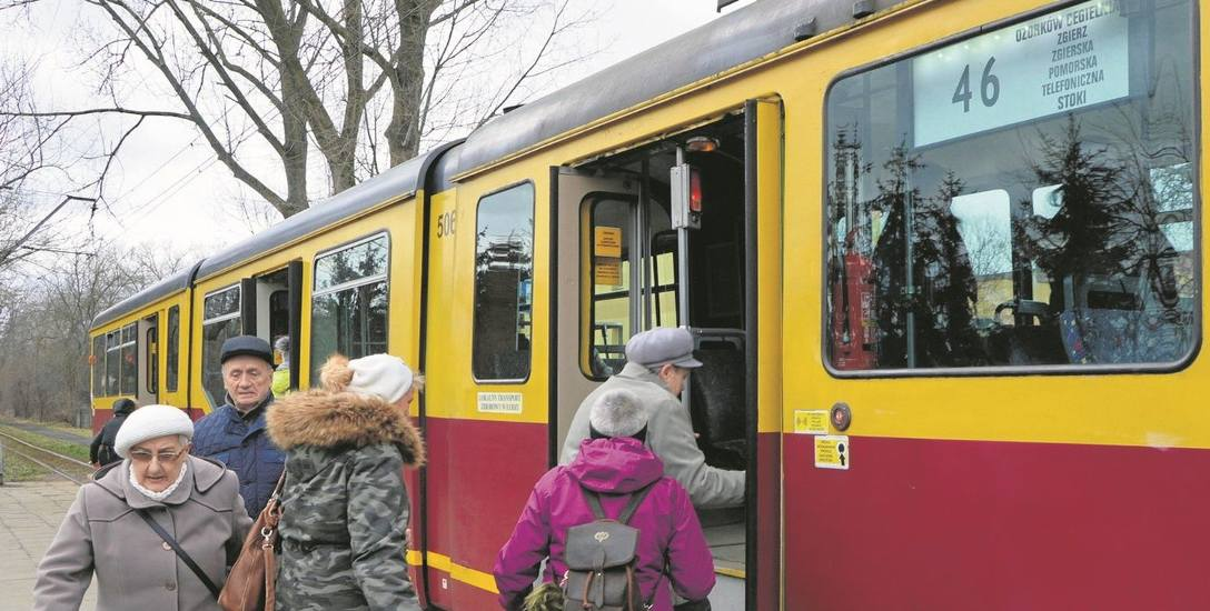 Komunikacja. Kto nie chciał  tramwajów? Jutro tramwaje do Zgierza i Ozorkowa wyruszą w trasę po raz ostatni