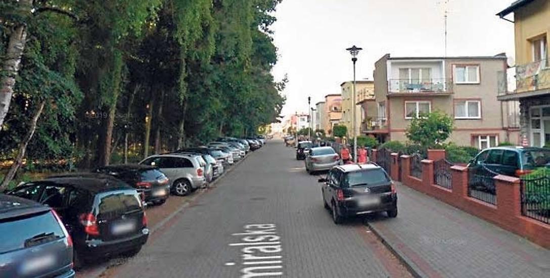 Strefa Płatnego Parkowania obejmuje m.in. ulicę Admiralską, Bosmańską i Marynarską w Darłówku Zachodnim