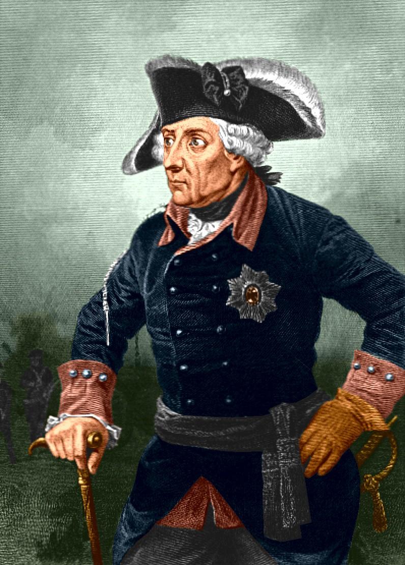 Fryderyk II Wielki, Friedrich II von Hohenzollern (ur. 24 stycznia 1712 w Berlinie, zm. 17 sierpnia 1786 w Poczdamie) – król Prus w latach 1740-1786.