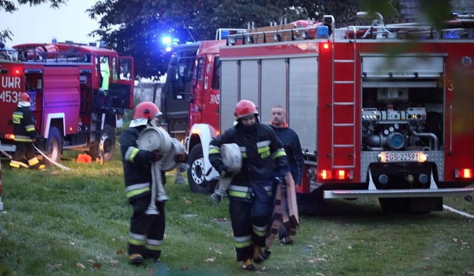 Film do artykułu: Pożar w Przewłoce koło Ustki